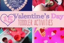 Valentine's Day Activities for Preschoolers / Happy Valentine's Day! Let's have some Valentine's Day family fun with all of the ideas, tips, tricks, and decorations that I've compiled. Looking for more family fun ideas, follow me here and at HomeschoolPreschool.net