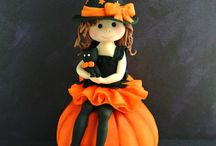 Haloween figures and Cakes