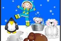 Set 3: Arctic Adventures / Brrrrrr. Bundle up! You and your child are about to go on an Arctic expedition to meet some adorable polar animals.