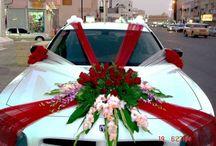 déco mariage voiture