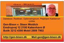Gen-Bixen / om min butik der  sælger både brugte og nye ting, såsom brugskunst, tøj og sko, dvd'er og cd'er, computerdele og el artikler, møbler, værktøj og meget andet.