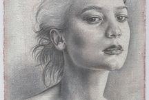 Drawings / Silverpoint Drawings & Pencil Drawings