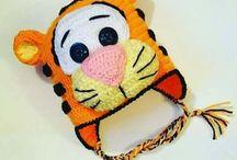 gorro de tigre