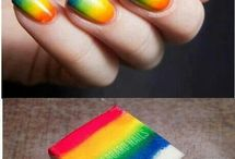 Nailed it.  / Pretty nail ideas / by Megan Gesing