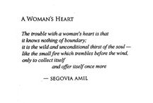 Quotes - Woman's Heart