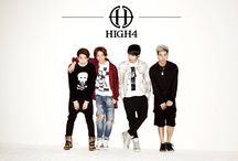 """High4 / High4 (Korean: :하이포; stylized as HIGH4) is a four-member South Korean boy band under the management of N.A.P Entertainment. The group consists of members Sunggu, Alex, Myunghan, and Youngjun. They officially debuted into the Korean entertainment industry on April 8, 2014 with the song """"Not Spring, Love, or Cherry Blossoms"""" featuring IU."""