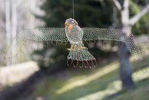 wire sculpture /drôtené objekty by čabradka / objekty vytvorené z recyklovaného materiálu