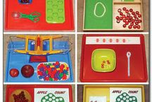 Apple Montessori activity