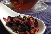 """Love is a Cup of Tea / We love this special time of year with our Valentine Blends.  So many customers say """"I look forward to Chocolate Rose and Chocolate Covered Strawberry"""" all year!"""""""