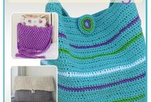 crochet bags, wallets, pocket & clutch
