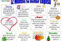 English / Tips och idéer för engelska på mellanstadiet.