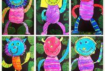 Art for second grade