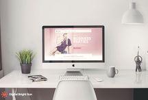 Web Design / Digital Bright Sun. Portfolio
