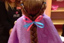 peinados american girl doll