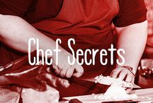 Chef Secrets / We love our @FYI chefs & their not-so-secret cooking secrets :)