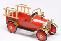 Transportation!  / Classic cars, pedal cars for kids and other transport vehicles that we like.