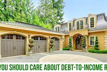 Debt to income ratios