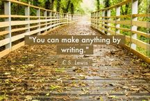 Thoughts on Writing / Quotes about writing.