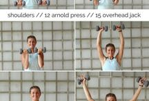 Upper Body Workouts / My favorite upper body workouts!