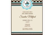 Baby Boy Shower Invitations / Unique and trendy baby shower invitations for boys. Modern patterns & bold colors leave a lasting first impression. Invitations are always 15% off MSRP. Quantity discounts also available.