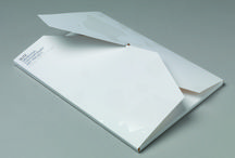 Folder Design / Examples of folders that make use of various formats and finishes.