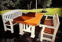 B&M Wood Garden furniture
