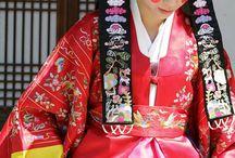 Hanbok Korean traditional dress