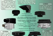 Inlet Caps / Vortox Inlet Caps lengthen the life of filter elements. Made of all steel construction, they are corrosion resistance, neat in appearance, have a minimum intake of water and maximum engine protection. All Inlet Caps can be supplied non-painted.