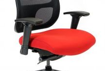Cool New Office Seating By RFM Seating / Here is a new chair from RFM Seating Tech - Clean lines, Mesh back and easy to reach adjustments
