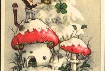 Fairies, Gnomes and toadstools