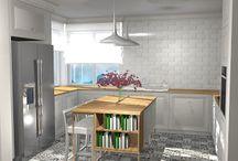 Projekt kuchni z wyspą / http://www.lillet.pl/