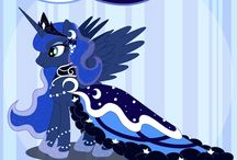 Luna's gown