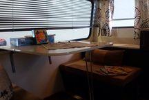 Retro caravan renovation / Interior exterior renovation