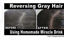 How to reverse grey hair with a drink.