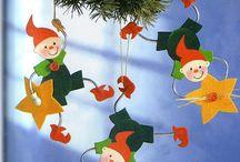 papír dekoracio karácsonyi