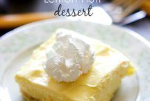Zitrone Desserts