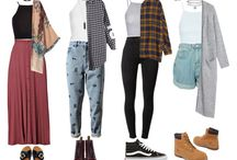90 grunge outfits