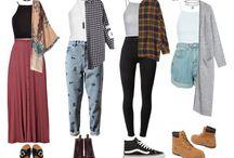 Ubrania grungeowe