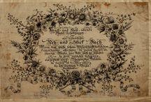 Kunst-und Fleiss-übende Nadel-Ergötzungen ... . Helmin, Margaretha, 1659-1742. / Helmin Margaretha, Joh. Chr. Haffner, Mart. Gottfr. Grophius, Christoph Weigel, 3 x Paterno berlin wool work, 1 x M.Levy berlin wool work