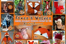 Volpi & Lupi - Foxes & Wolves Crochet
