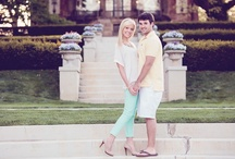 Engaging Photos / Cantigny provides a beautiful backdrop for engagement photos!