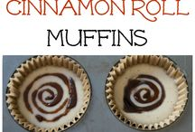 Søte muffins