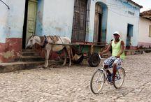 Sobre ruedas (Bicicletas y +) / Lugares - Bicicletas - Personas