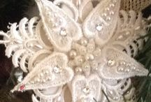 Porcelain, Pearls and Lace / Hand made creations and lovely compositions of porcelain, pearls and lace.
