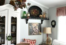 Country living rooms / Interiors
