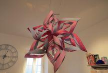 Atelier des mamans / Vendredi 5 décembre de 18h30 à 20h: l'atelier est ouvert  aux mamans. Venez rêver en fabriquant de belles étoiles. Retrouver tous les ateliers et les animations sur le site: www.revesetcreations.fr dans la rubrique des actus