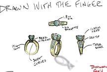 Ring / Custom made at Distinctive Gold Jewelry Frankfort IL 815.469.2929 www.distinctivegold.com