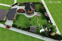 Ландшафт садового участка