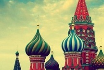 My Moscow and Russia, my LOVE / Why? I was born in Moscow. It is my Love-City. I am Moskvichka!