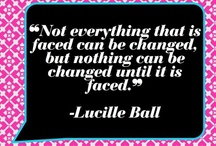 Quotes. / by Samantha Bosetti